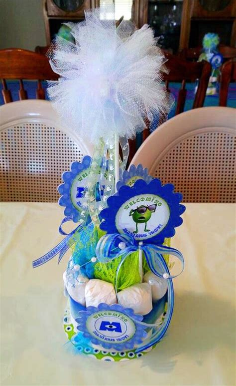 monsters inc baby shower centerpieces best 25 monsters inc centerpieces ideas on