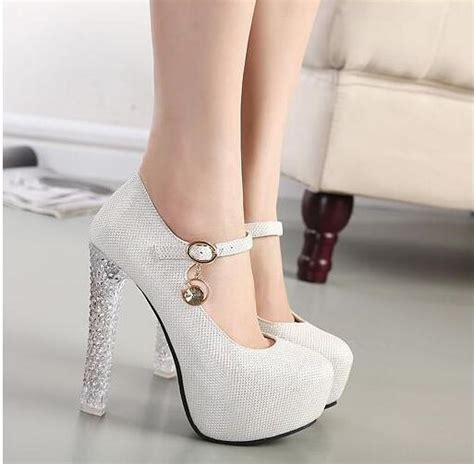 Heels Wanita Hrms Silver 2015 new wedding shoe high heels 8 10 cm gold silver prom shoes princess waterproof bowknot