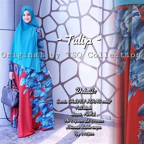 Jasmien Jumbo Maxy Gamis Calvin Gamis Batik Jumbo Dress gamis setelan tulip syar i calvin baju muslim