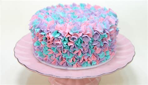 Cake Style by Vanilla Bean And Lavender Cake Cake Style