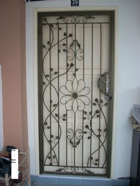 pin door grill main gate staircase balcony window outdoor