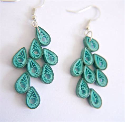 quilling teardrop tutorial 338 best images about quilling earrings on pinterest