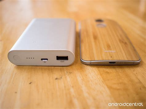 Energea Slimpac 10k Charge 3 0 on aukey 10000mah external battery charger android central