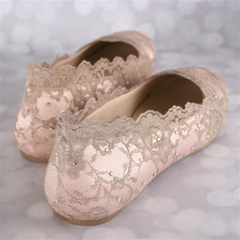 Blush Flat Wedding Shoes wedding shoes blush wedding shoes wedding shoe flats gold