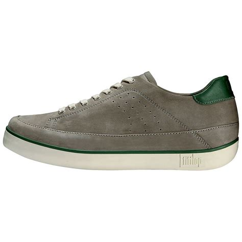 Fitflop Nubuckman fitflop supertone nubuck s trainers boulder grey