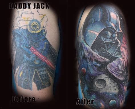 tattoo now darth vader by tattoonow