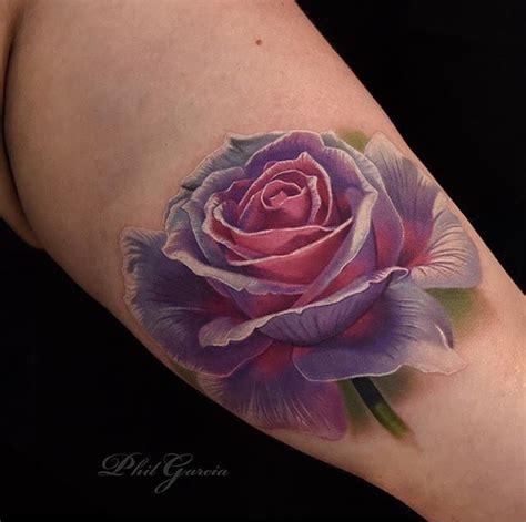 beautiful realistic rose tattoo pinteres