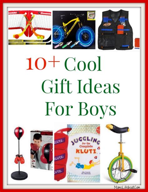 cool gift ideas for boys that will last all year