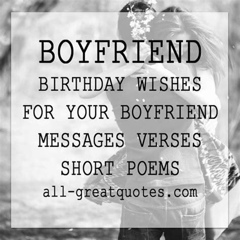 Birthday Quotes For Your Boyfriend 1000 Ideas About Short Birthday Wishes On Pinterest