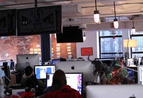 tumblr headquarters with the ceiling not too high may be all the info