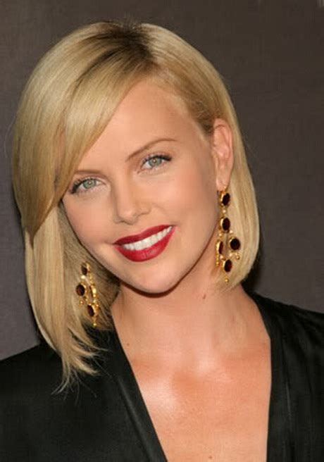 Whats Lipstick The Scoop On Charlize And Katharines Shades by Coupe Halflang Haar