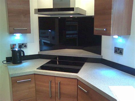 Kitchen Glass Upstands by Glass Splashbacks Klg Glass