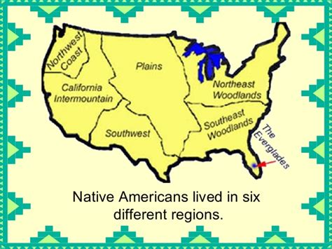 american tribe map by regions americansoverviewoftribesinnorthamerica