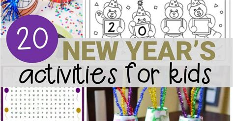 new year lesson 20 new year s activities for