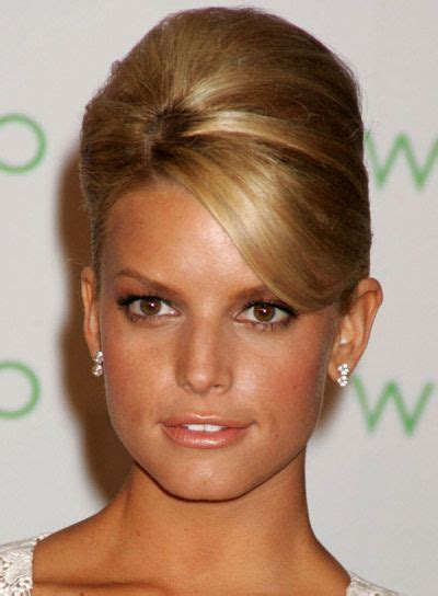 heavy formal hair styles 25 best ideas about jessica simpson hairstyles on