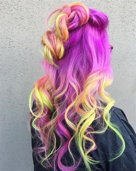 bright hair color ideas best 25 bright hair colors ideas on awesome