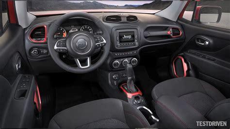 Jeep Renegade 2015 Interior 2015 Jeep Renegade Interior Design