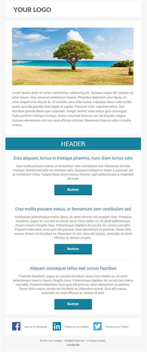 6 Free Responsive Marketo Email Templates Pardot Responsive Email Templates