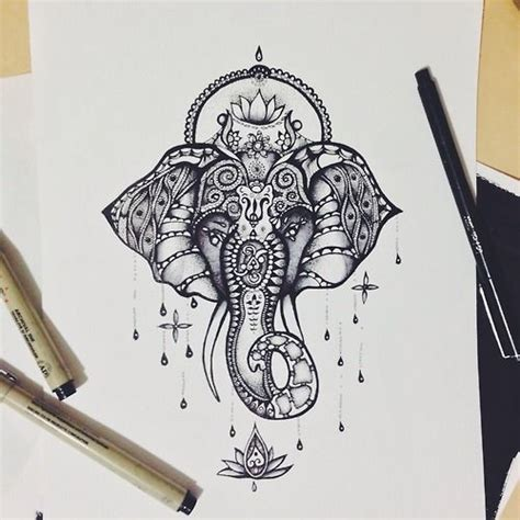 elephant tattoo with jewelry pinterest the world s catalog of ideas