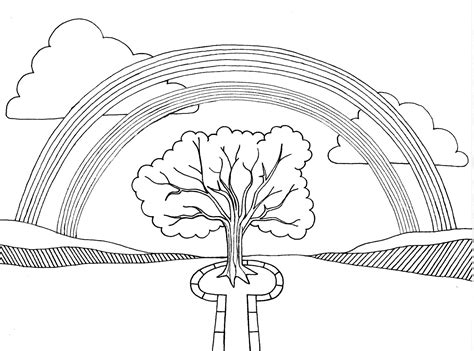 Free Printable Rainbow Coloring Pages For Kids Rainbow Coloring Pages For