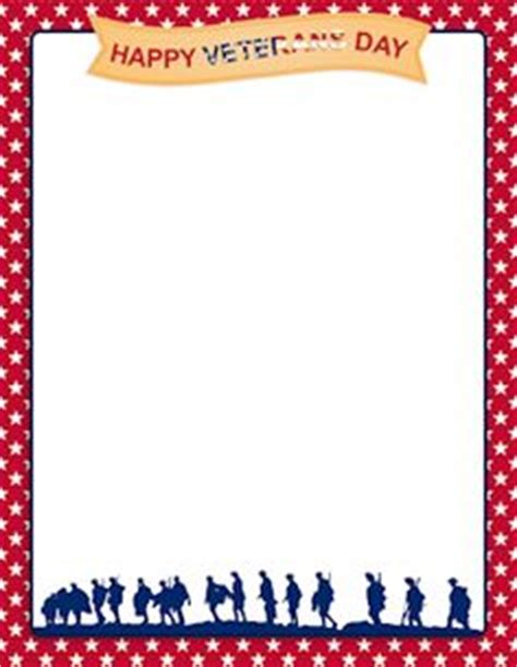 veterans day letter writing paper printable american flag border free gif jpg pdf and