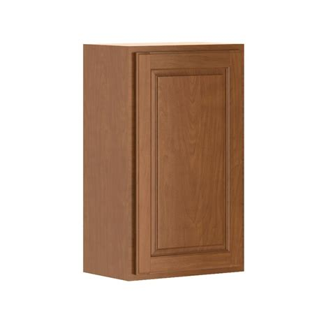 home depot cognac cabinets hton bay madison assembled 18x30x12 in wall cabinet in