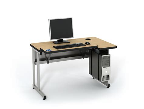 computer desk for disabled wheelchair accessible computer desk computer lab tables