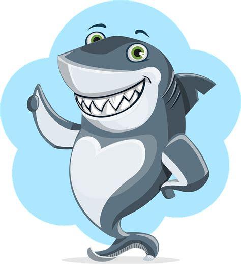 baby shark png free vector graphic shark animal character cute free