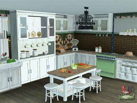 sims 3 kitchen ideas lulu265 s country kitchen