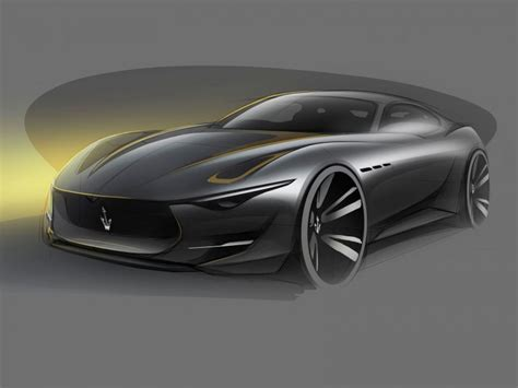 Maserati Alfieri Concept: the design   Car Body Design