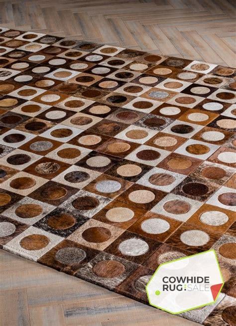 modern dot cowhide rug mosaic rugs cowhide rug sale