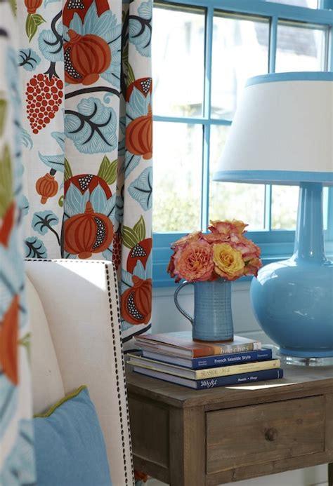 turquoise  orange design ideas
