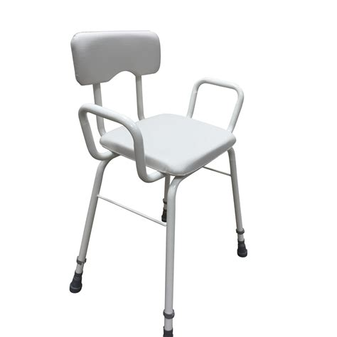 Height Adjustable Perching Stool by Ultra Lightweight 4 5kg Height Adjustable Perching Stool
