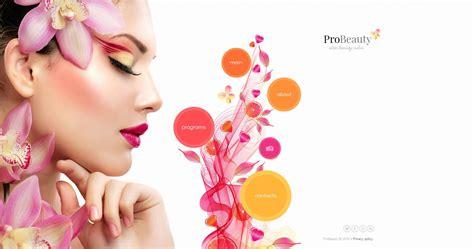 imagenes gratis belleza plantilla moto cms html 53054 para sitio de salones de