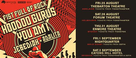 a of rock announce their stellar 2017 line up