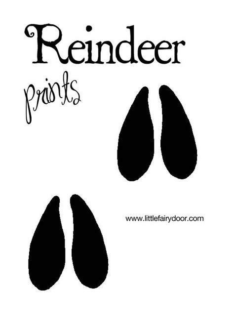 printable elf footprints reindeer prints jpg 595 215 842
