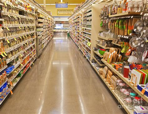 grocery store aisle layout grocery store aisle photograph