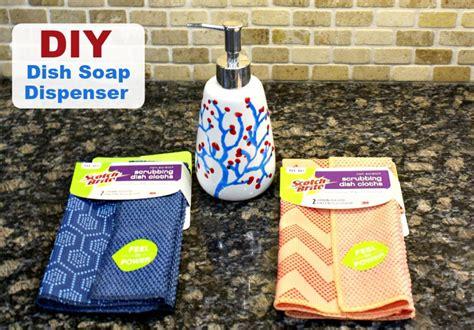 diy soap dish why i chose teamdishcloth a dish soap dispenser diy