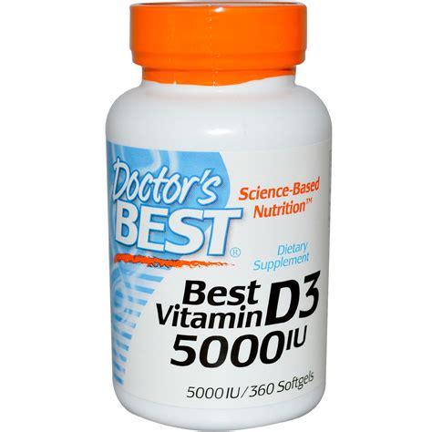 Doctor Best doctor s best best vitamin d3 5000 iu 360 softgels