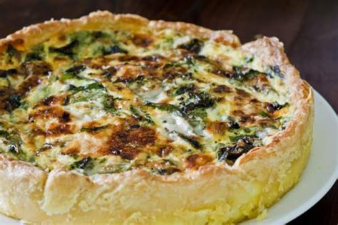 spinach and cottage cheese quiche