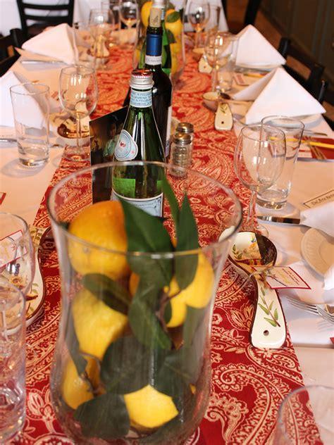 Tuscan Orange lisa s italian themed bridal shower