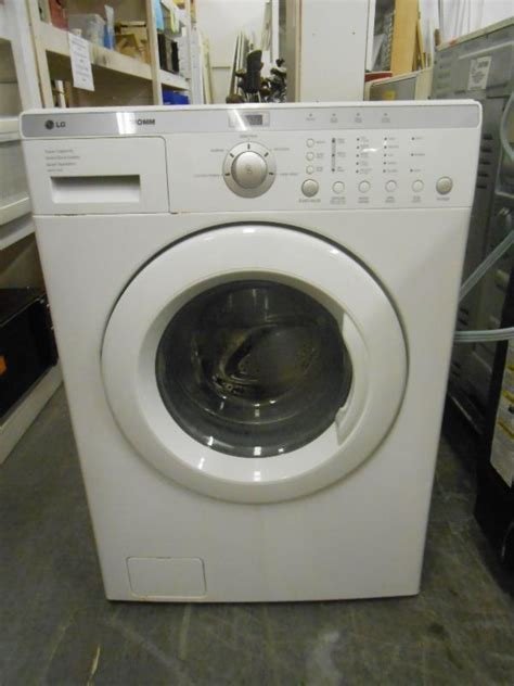 Employment Opportunity Lg Tromm Front Load Washer Ge Glass Top Stove Leather Sectional Two
