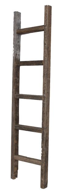 5 Foot Wall Shelf by Barnwoodusa Rustic Reclaimed Wooden Ladder 5 Foot Rustic Display And Wall Shelves By