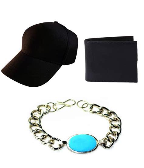 Sdl Pvc Rck Aw 34 71 on bajya circle of blue alloy bracelet formal wallet and football cap combo on