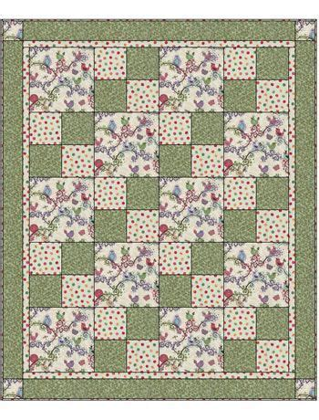 biography quilt squares life is tweet sew quick 3 yd quilt kit 48 x 58 inches