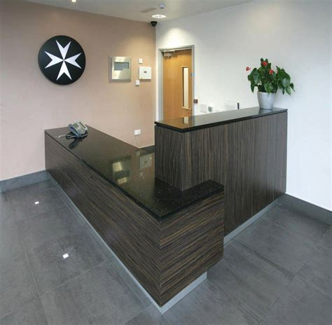 Large Reception Desk Bespoke Reception Counters