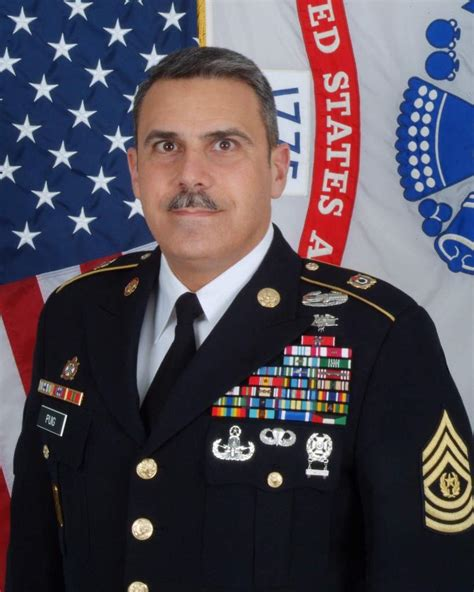 Can You Get In The Army With A Criminal Record Command Sergeant Major David Puig Leaves The Joint Munitions Command Article The