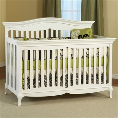 Bonavita Carla Crib by Pali Mantova 4 In 1 Convertible Forever Crib In White Free