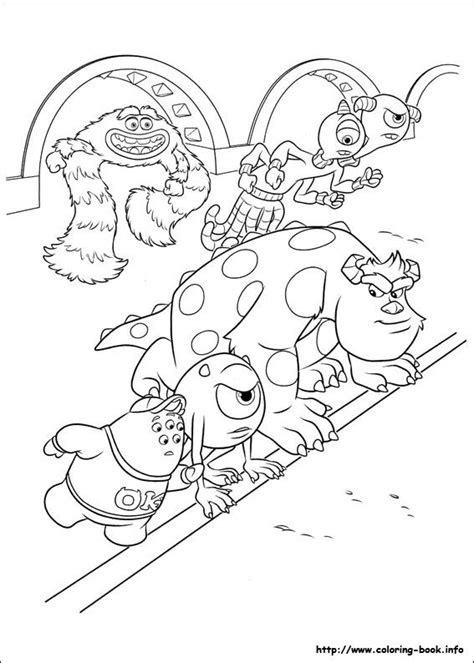 coloring pages for monsters university 183 best images about coloring pages on pinterest