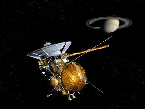 describe how saturn was named a moon with a view part one